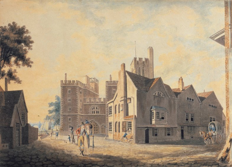 View of the Archbishop's Palace, Lambeth(1790)
