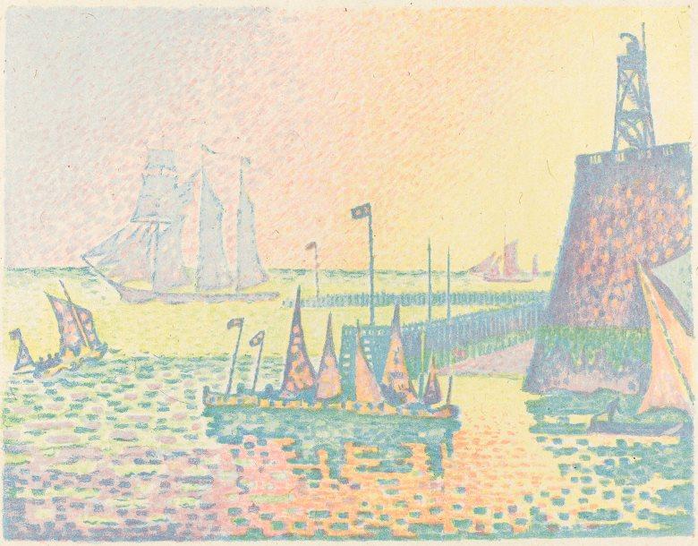 Evening (Le soir)(1898)