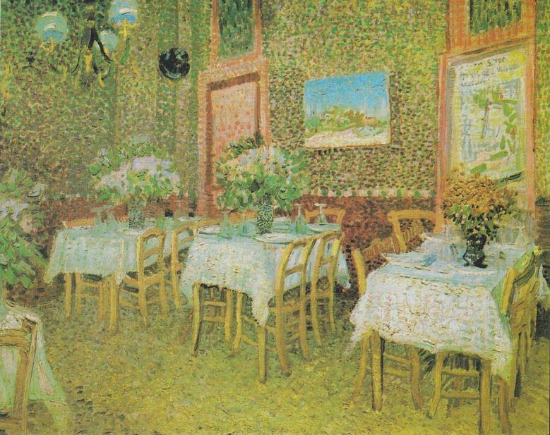 Interieur van een restaurant(1887)