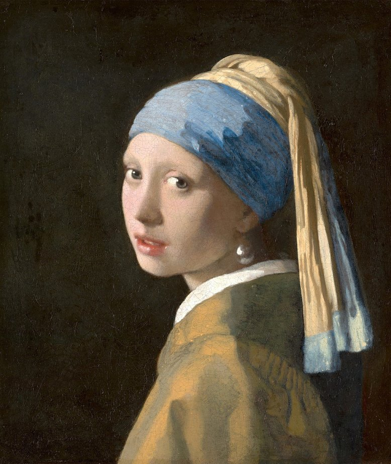 Girl with a Pearl Earring(c.1665)