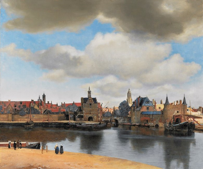 View of Delft(1660-1661)